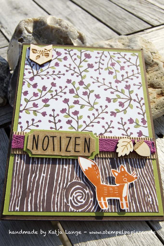Notizblock im Herbst und Winter mit Stampin' Up!4