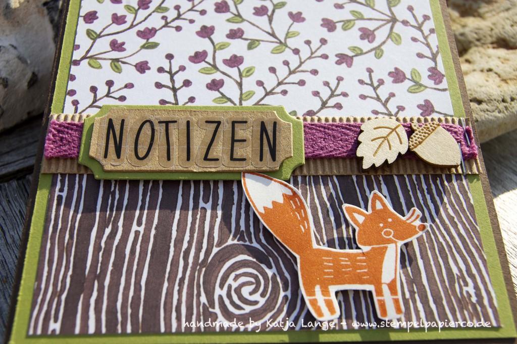 Notizblock im Herbst und Winter mit Stampin' Up!5