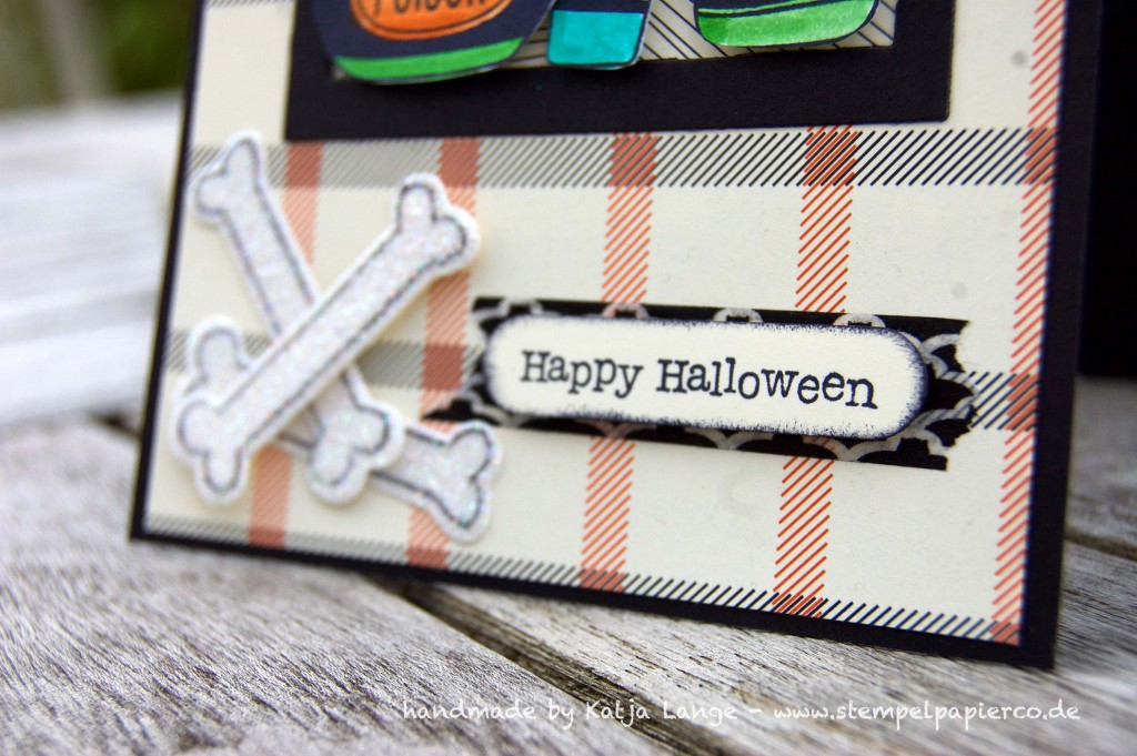 Halloweenkarte mit Sweet Hauntings1