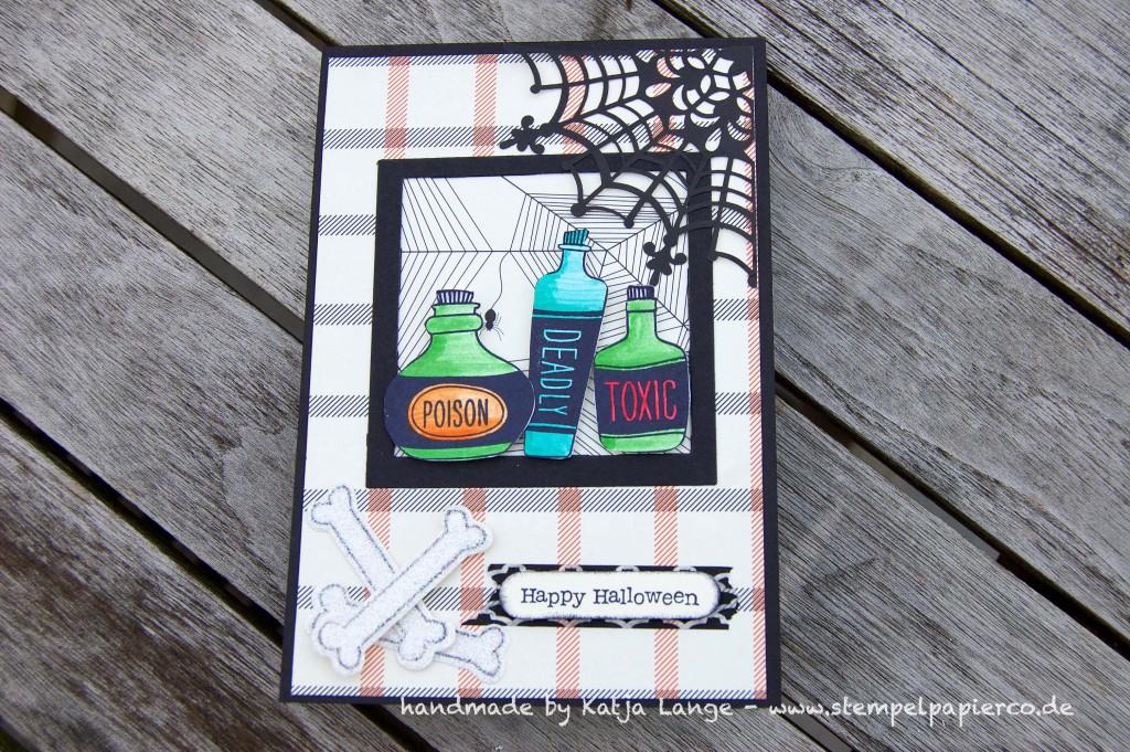 Halloweenkarte mit Sweet Hauntings2