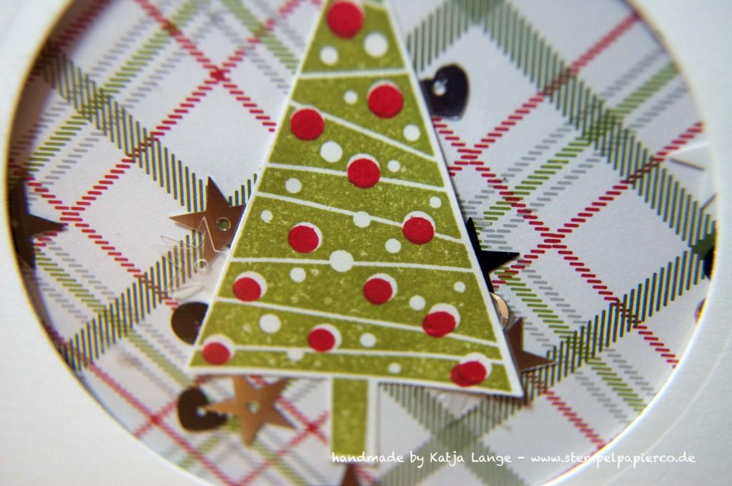 weihnachtliche Schüttelkarte mit Produkten von Stampin' Up!3