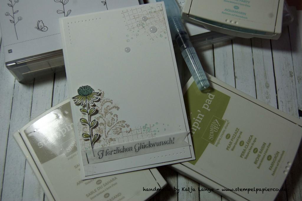 Glückwunschkarte mit Timeless Textures von Stampin' Up!3