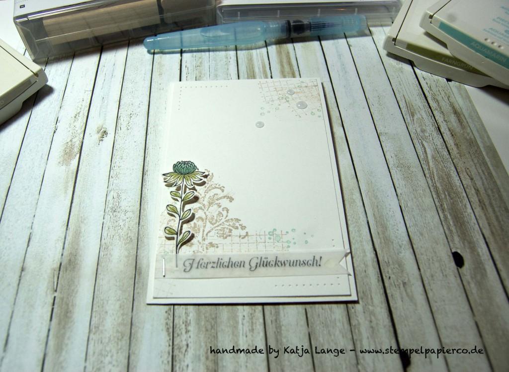 Glückwunschkarte mit Timeless Textures von Stampin' Up!4