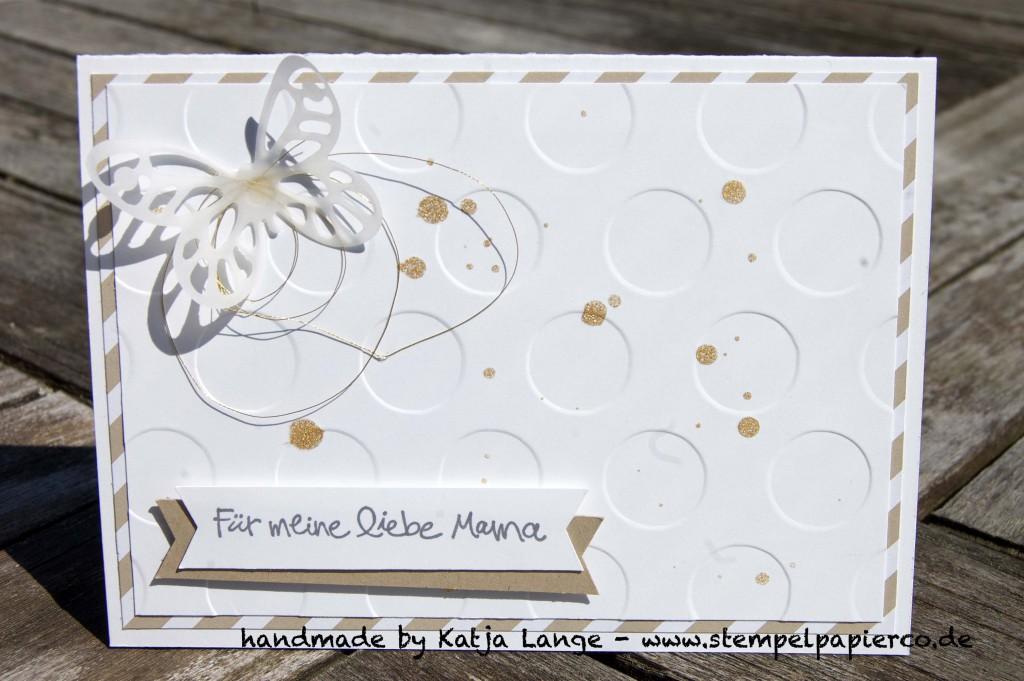 Muttertagskarte mit Produkten von Stampin' Up!3