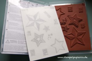 Stempelset/Flohmarkt Stampin' Up! Be the star 2